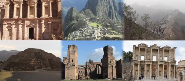 Įdomiausios pasaulio istorinės vietos