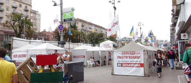 Kijevas Euromaidano revoliucijos išvakarėse