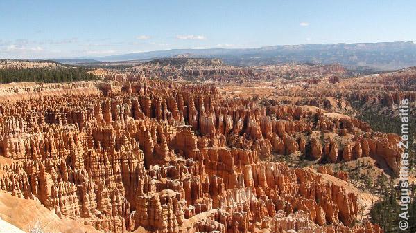 Braiso kanjono panorama