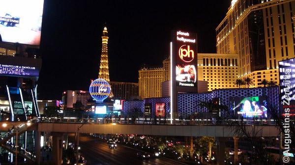 Las Vegaso naktis