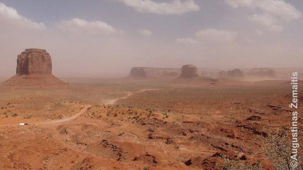 Navahų teritorijoje
