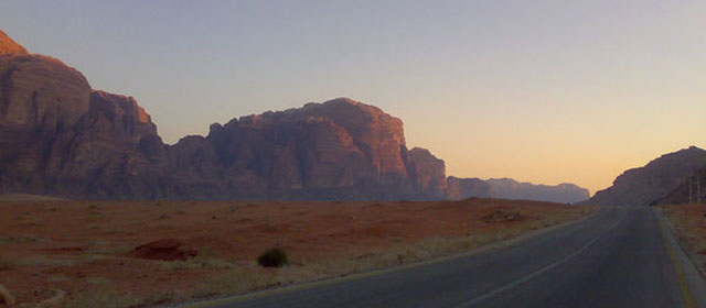 Jordanija – dykuma, persunkta istorijos