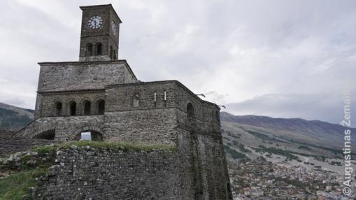 Džirokasterio pilis Albanijoje