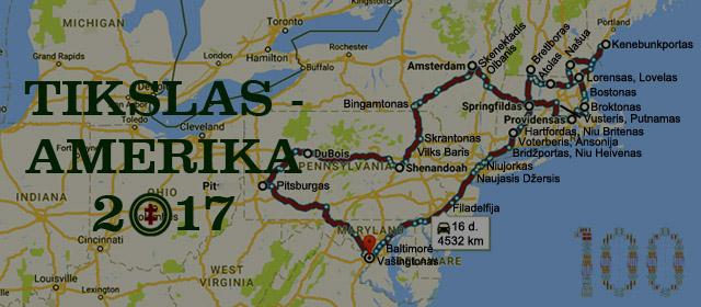 Tikslas – Amerika. Mano misija rasti Lietuvą JAV