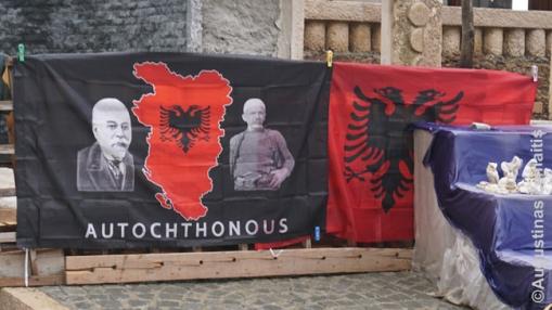 Didžiosios Albanijos vėliavos