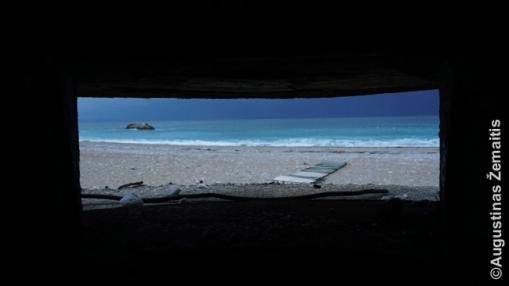 Vaizdas iš bunkerio