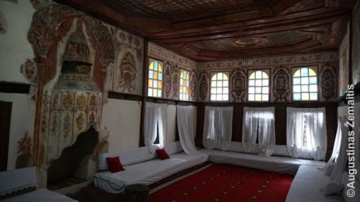 Zekatės namo svečių priėmimo salė