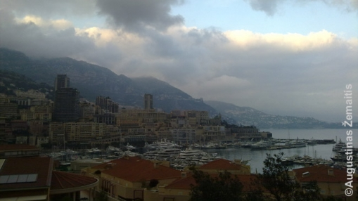 Monako panorama