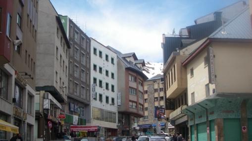 Andoros sostinės gatvė