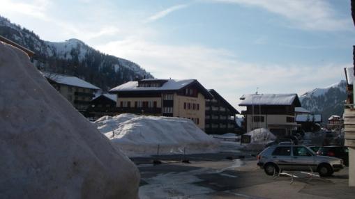 Lichtenšteino mikrovalstybės slidinėjimo kurortas pačiuose šalies rytuose