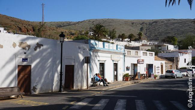 Betrankurijos miestelis Fuerteventuroje