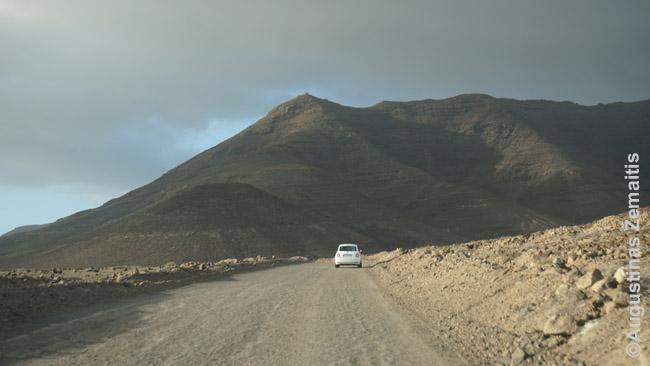 Negrįstas kelias iš Moro Chablo į Kofetės kaimą