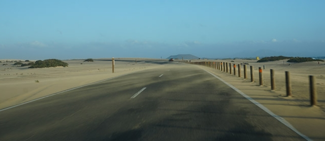 Fuerteventura – Kanarų sala-dykuma