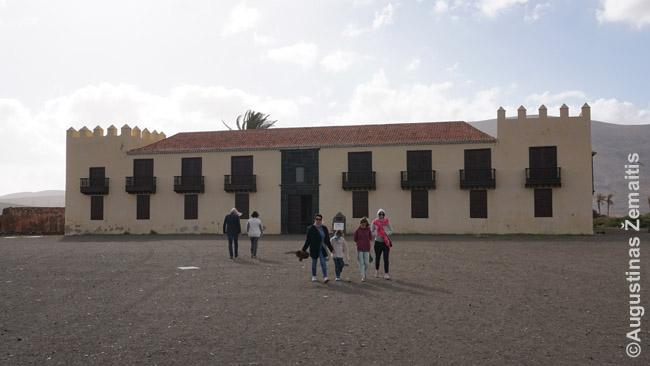 Pulkininkų namas Fuerteventuroje