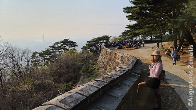 Ant Namhansanseong tvirtovės