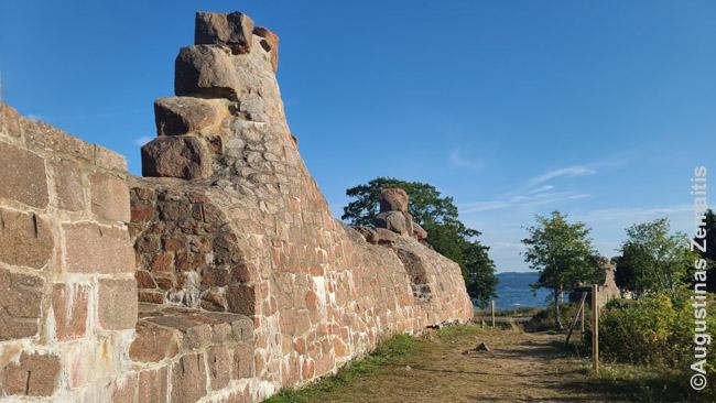 Bomarsundo tvirtovės liekanos