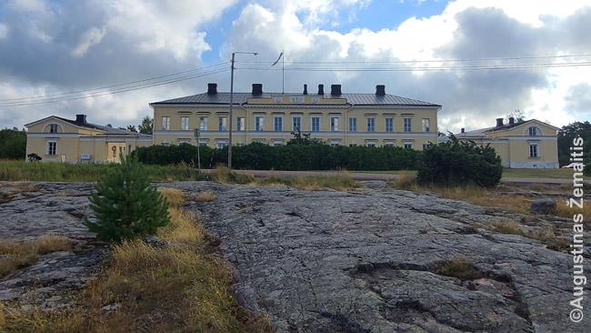 Rusų paštas Eckero saloje