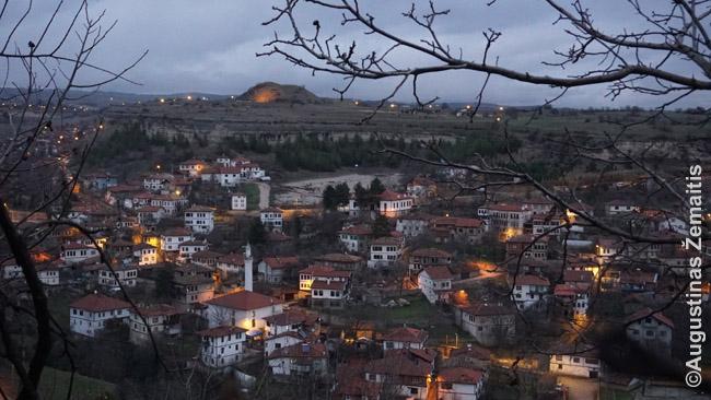 Senas osmaniškas Safranbolu miestelis ~200 km nuo Ankaros