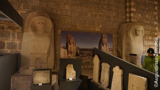 Vienas retų senųjų Ankaros pastatų - Osmanų barakai, virtę Anatolijos civilizacijų muziejumi. Čia jame eksponuojami diidngi tūkstantmečių senumo sfinksai, atvežti iš virš 3000 metų amžiaus Aldžahojuko hetitų miesto