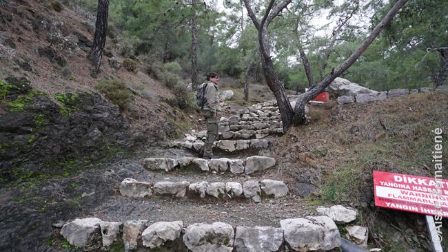 Likijos kelias veda ir prie Čiralio ugnių