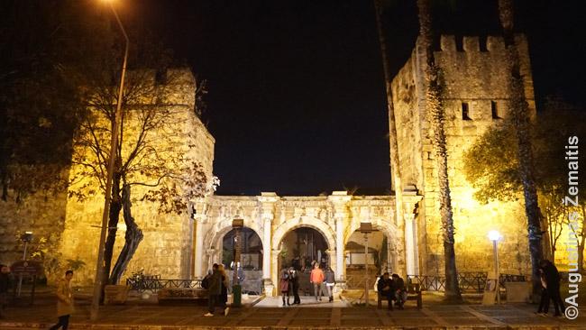 Antalijos senamiesčio Trigubieji (Hadriano) vartai