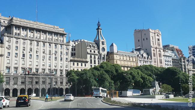 Argentinos praeities didybė atsispindi Buenos Airių pastatuose