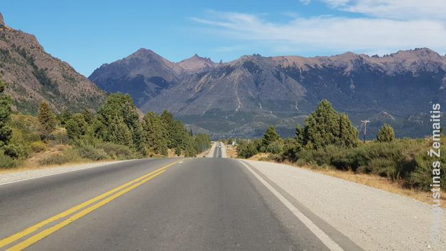 40 keliu į pietus. 40 kelias toks garsus, kaip 66 JAV kelias; jis driekiasi nuo pat Argentinos šiaurės iki pietų