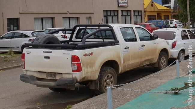 Argentinoje policijos nuovadą iš tolo atpažinsi pagal gausybę aplinks tovinčių mašinų užplombuotomis durimis (ant plombos parašyta - 'nacionalizuota') ir sudaužytų mašinų - atrodo, visas jas policininkai atsitempia sau, jei tik pajėgia; kur miestas toli, jos paliekamos avarijos vietoje per amžius