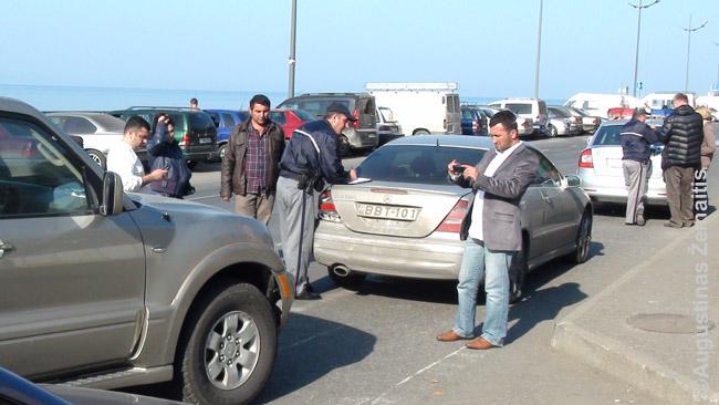 Avarija su nuomotu automobiliu Gruzijoje