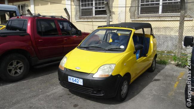 Kai kur nuomojami ypatingi, įdomesni automobiliai. Pvz. Barbadose įprastas kėbulo tipas 'moka' - kiekviena autonuomos agentūra tokius turi (su stogu, tačiau be durų)