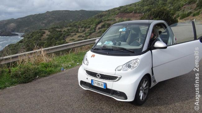 Nesijaudinkite, išsinuomavę mažiausią automobilį Smarto greičiausiai negausite