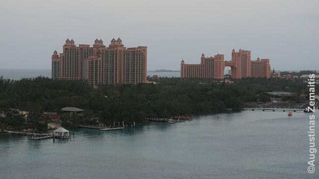 Atlantis megaviešbutis Bahamų Nasau