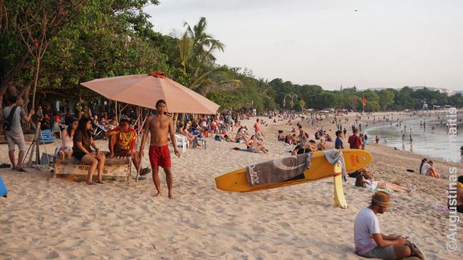 Kutos paplūdimys - garsiausias Balyje