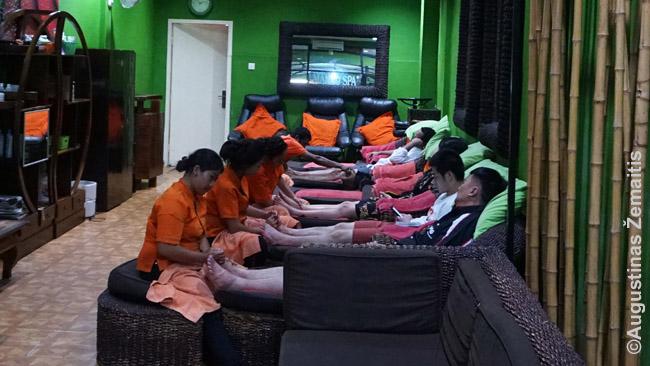 Masažo salonas Balyje