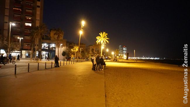 Barselonos pajūrio promenada