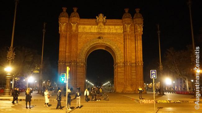 Barselonos triumfo arka