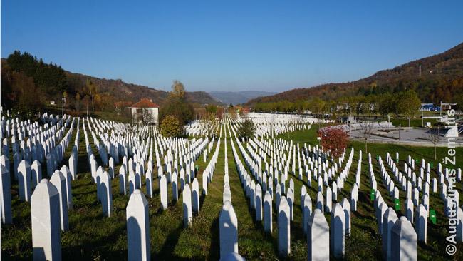 Srebrenicos memorialas