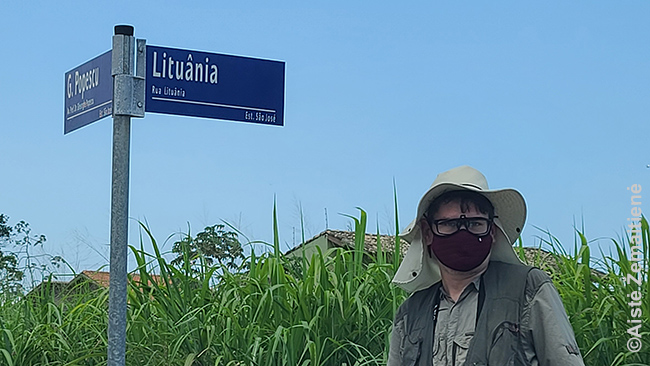 """Brazilijoje yra apie trisdešimt Lietuvos gatvių. Tas, kurios pakeliui, užfiksuojame """"Gabalėliams Lietuvos"""". Tiesa, už daugelio jų ta pati istorija: gatvės pavadintos įvairių šalių iš eilės vardais"""