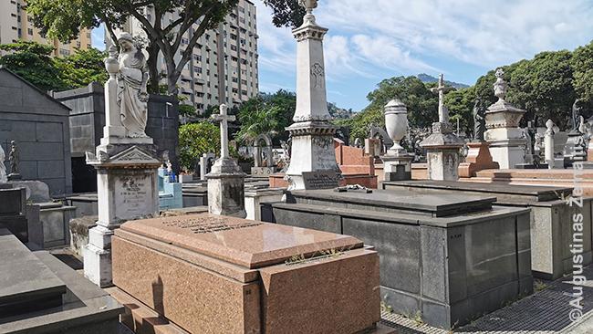 Istorinės Catumbi kapinės Rio de Žaneire