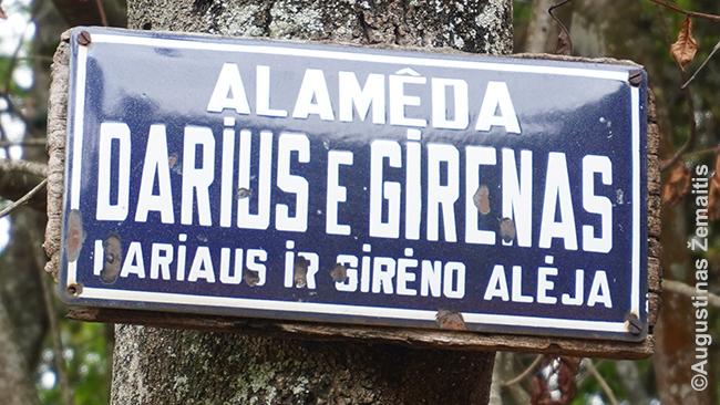 Dariaus ir Girėno gatvė Lituanikoje