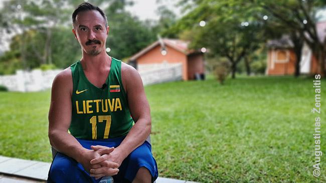 Imame interviu iš Andre Zizo Lituanikoje