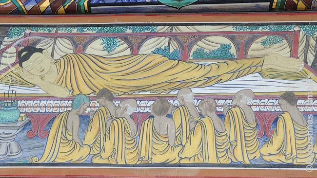 Mirštantis Buda - pakeliui į Nirvaną