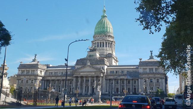 Pastatai Argentinoje vertinami tarsi meno kūriniai, juos net pasirašo architektai, iškaldami savo vardus