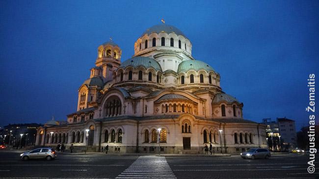 Šv. Aleksandro Neviškio katedra Sofijoje