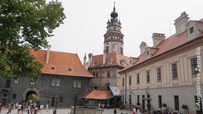 Česky krumlovo pilies kiemas