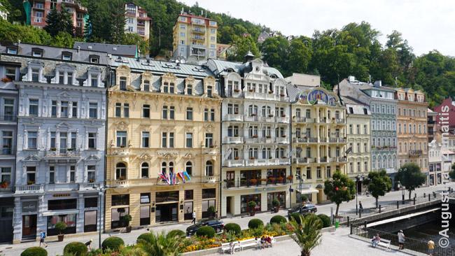 Karlovy Varų kurortinė dalis