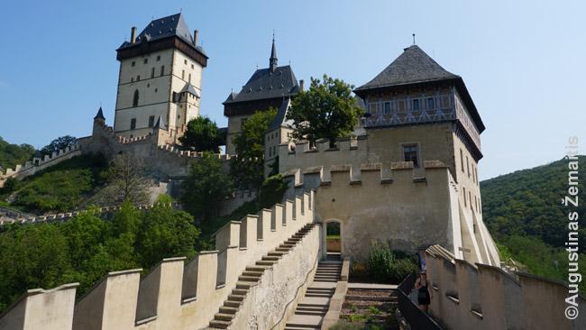 Karlšteino pilis prie Prahos