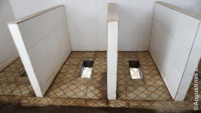 Tipiniai Činghajaus tualetai