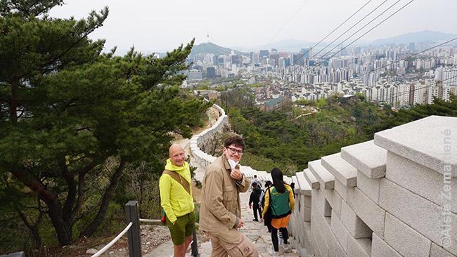 Su Martynu and Seulo miesto sienos