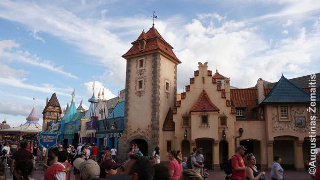 Disnėjaus Magic Kingdom vaizdas